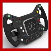 McLaren Steering Wheel Replica  3d model