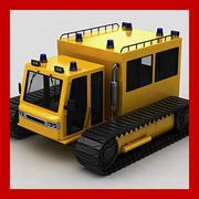Schneekatze 3d model