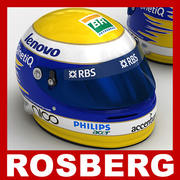 Nico Rosberg F1 Helmet  3d model