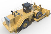 escavadeira 854k 3d model