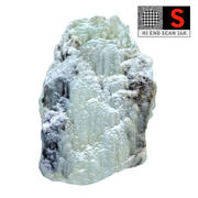 Zjawisko lodospadu natury (6) 3d model