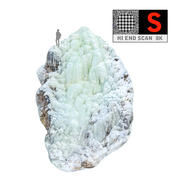Zjawisko lodospadu natury (8) 3d model