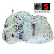 Zjawisko lodospadu natury (7) 3d model