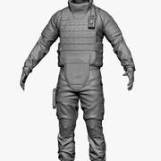 Soldat 2 3d model
