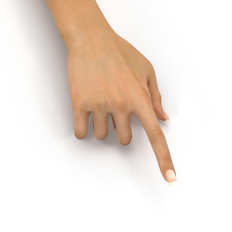 Main femelle truquée pour Maya royalty-free 3d model - Preview no. 32
