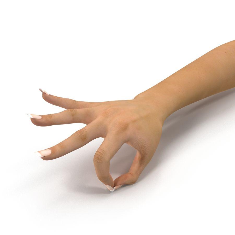 Main femelle truquée pour Maya royalty-free 3d model - Preview no. 24