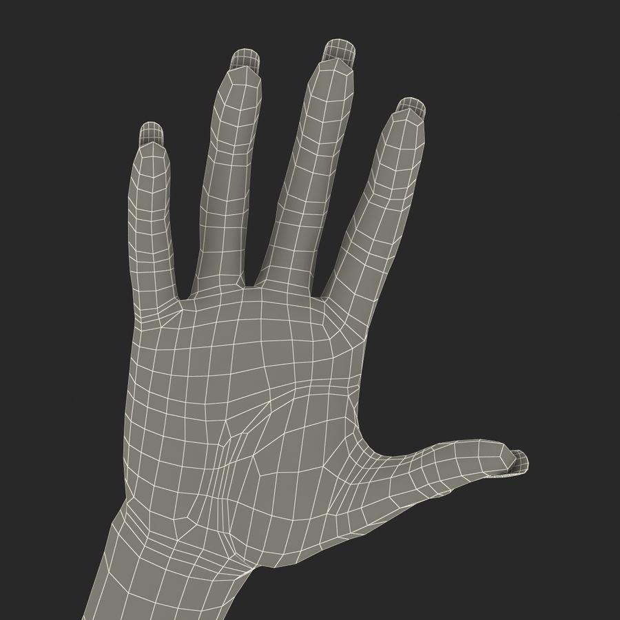 Main femelle truquée pour Maya royalty-free 3d model - Preview no. 55