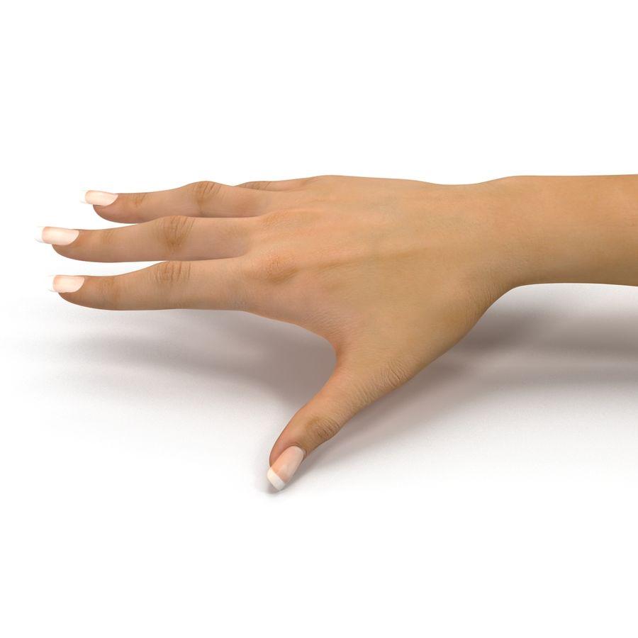Main femelle truquée pour Maya royalty-free 3d model - Preview no. 26