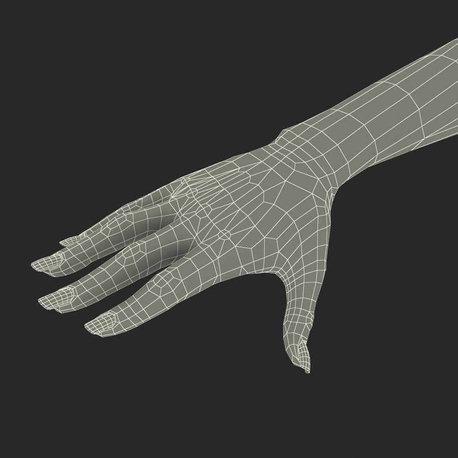 Main femelle truquée pour Maya royalty-free 3d model - Preview no. 51