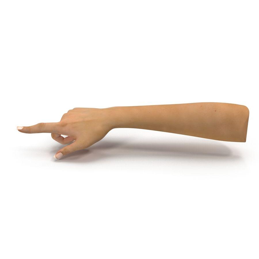 Main femelle truquée pour Maya royalty-free 3d model - Preview no. 14