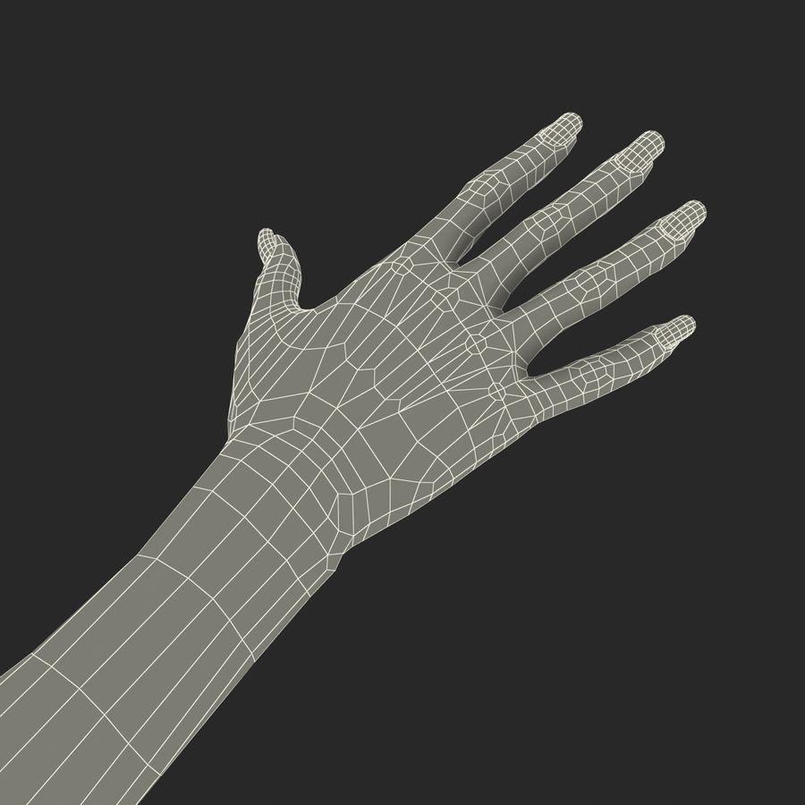 Main femelle truquée pour Maya royalty-free 3d model - Preview no. 53