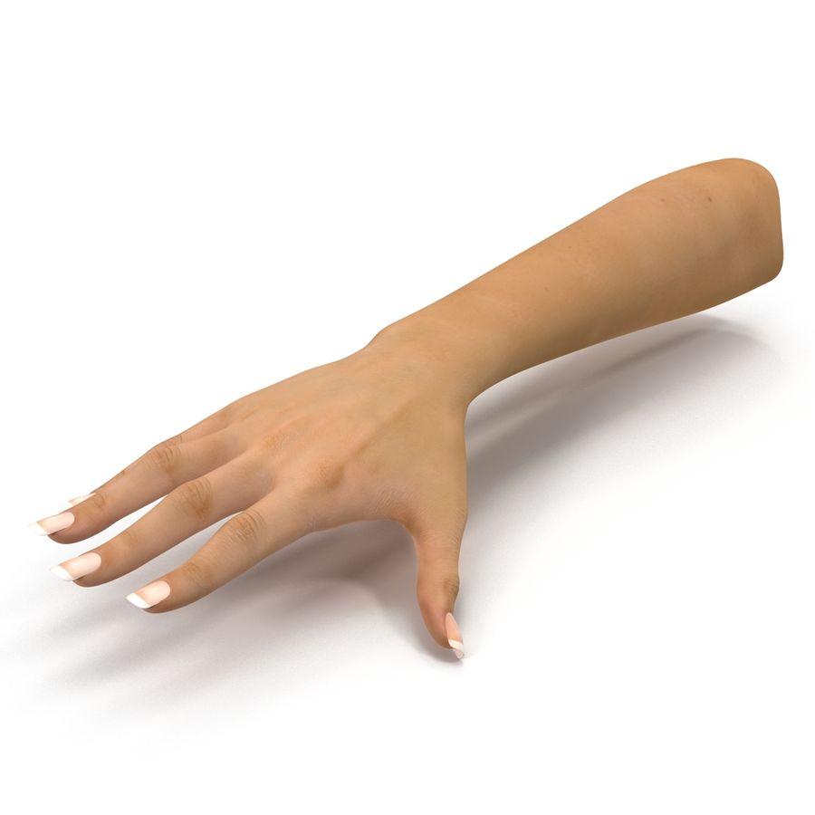 Main femelle truquée pour Maya royalty-free 3d model - Preview no. 9