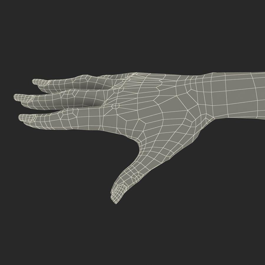 Main femelle truquée pour Maya royalty-free 3d model - Preview no. 52