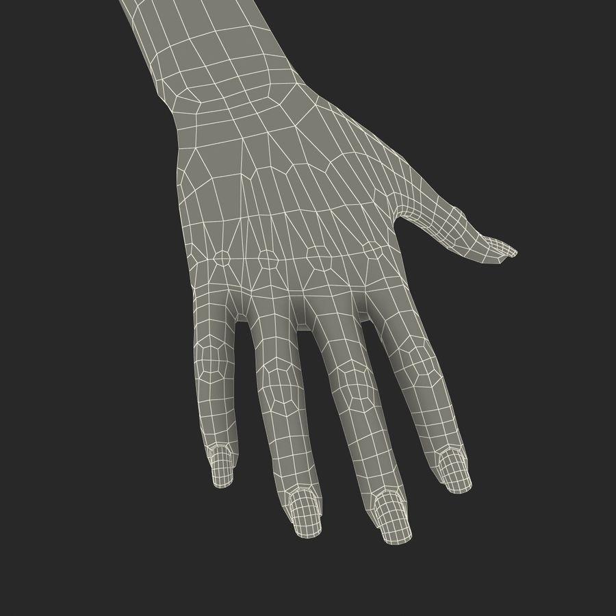Main femelle truquée pour Maya royalty-free 3d model - Preview no. 54