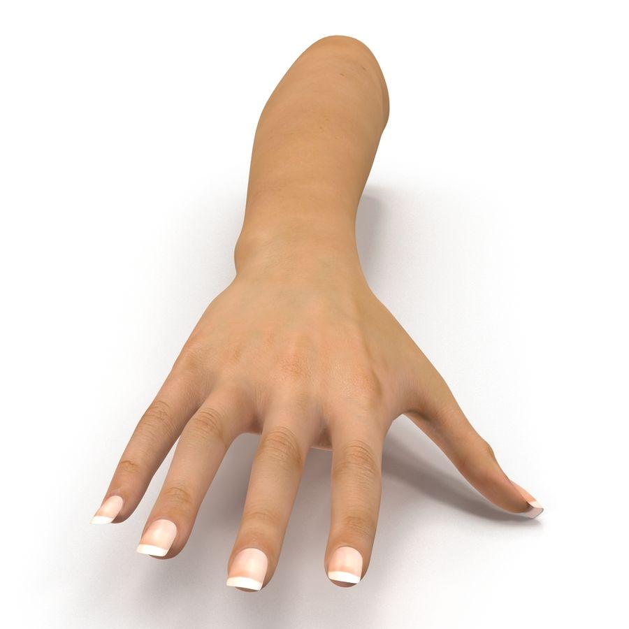 Main femelle truquée pour Maya royalty-free 3d model - Preview no. 8
