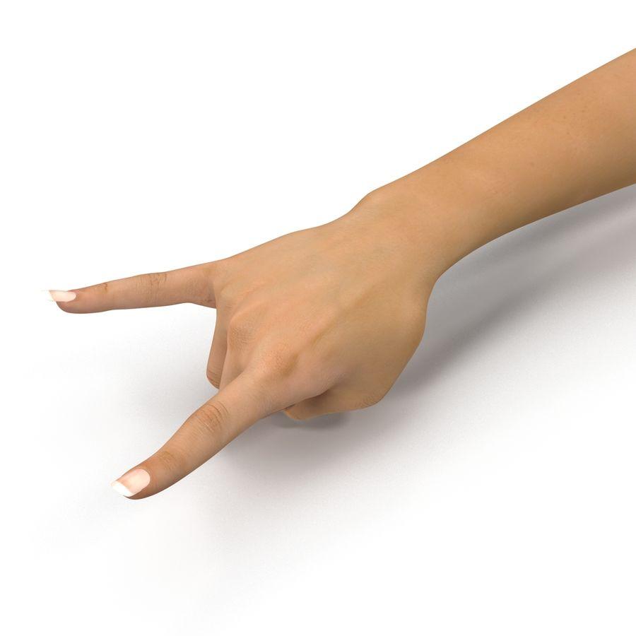 Main femelle truquée pour Maya royalty-free 3d model - Preview no. 23