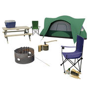 Camping Kit 3d model