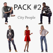 City People 3d model