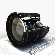 렌즈 (섹션) 3d model