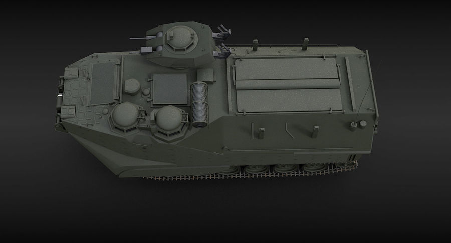 Assault Amphibious Vehicle royalty-free 3d model - Preview no. 14