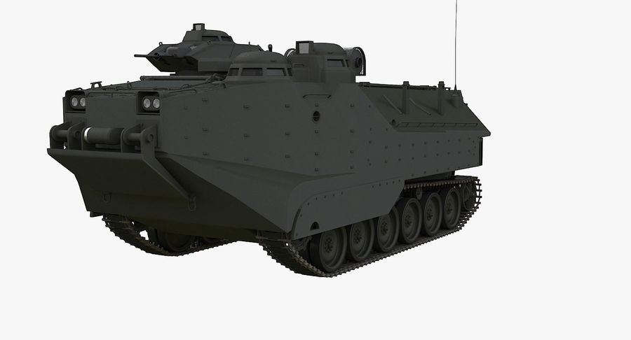 Assault Amphibious Vehicle royalty-free 3d model - Preview no. 2