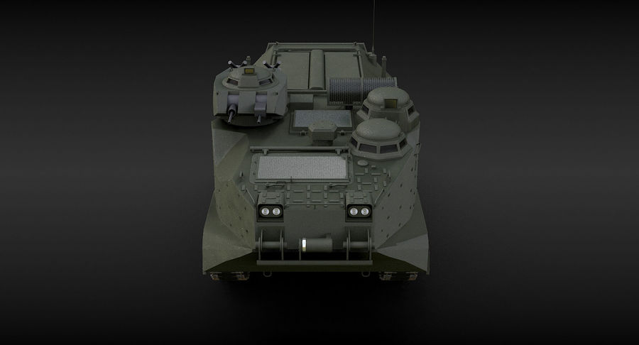 Assault Amphibious Vehicle royalty-free 3d model - Preview no. 10