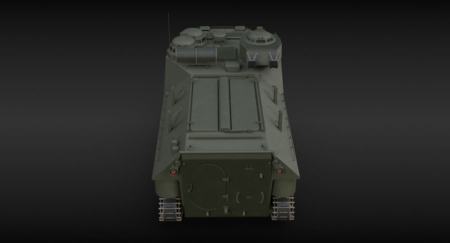 Assault Amphibious Vehicle royalty-free 3d model - Preview no. 11