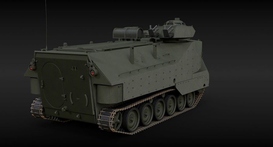 Assault Amphibious Vehicle royalty-free 3d model - Preview no. 7