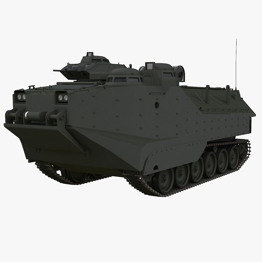 Assault Amphibious Vehicle royalty-free 3d model - Preview no. 1