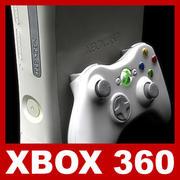 Xbox 360とコントローラー 3d model