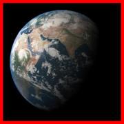 La terre 3d model