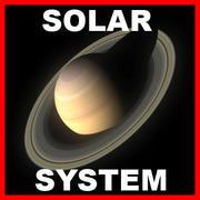 Planètes - Pack système solaire 3d model
