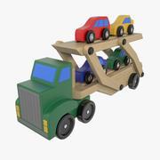 汽车运输车 3d model