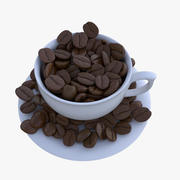 coffee bean 3d model