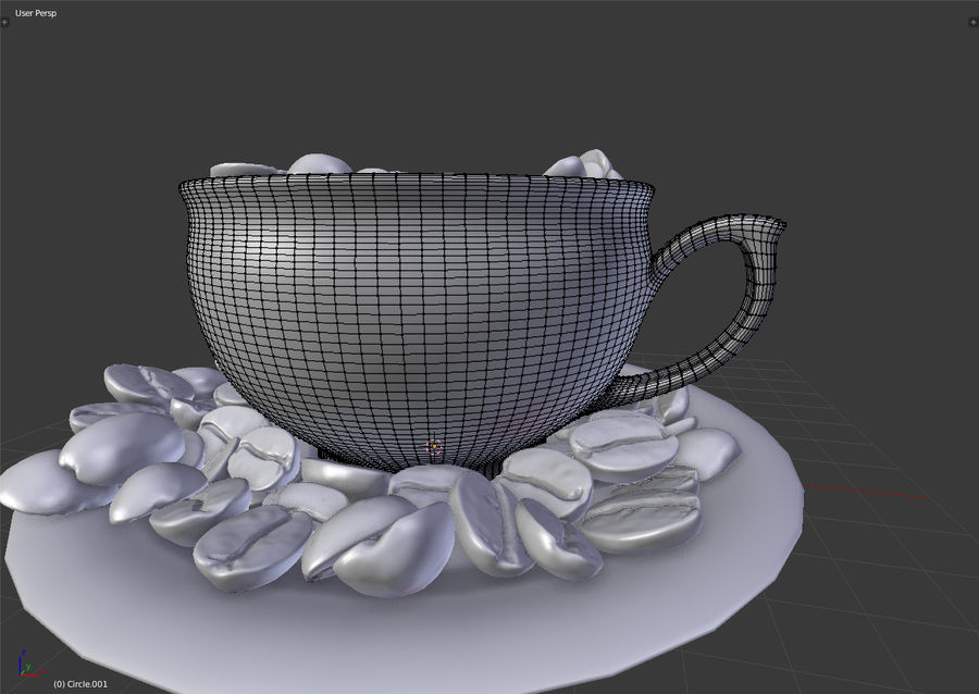 coffee bean royalty-free 3d model - Preview no. 16