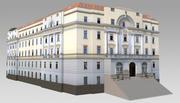 古典政府大楼 3d model
