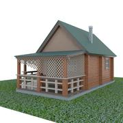 домик в деревне 3d model