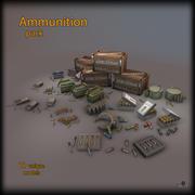 Pacote de munição 3d model
