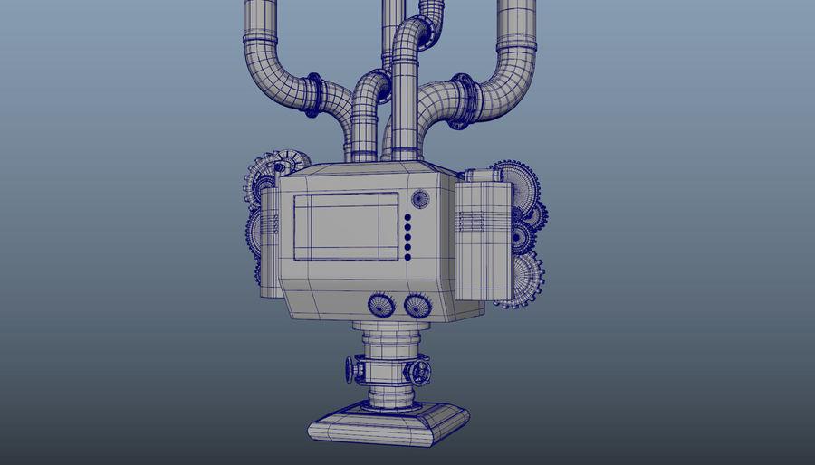 機械 royalty-free 3d model - Preview no. 5