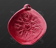 Wisiorek w 3D do druku Korzenie życia to miłość 3d model