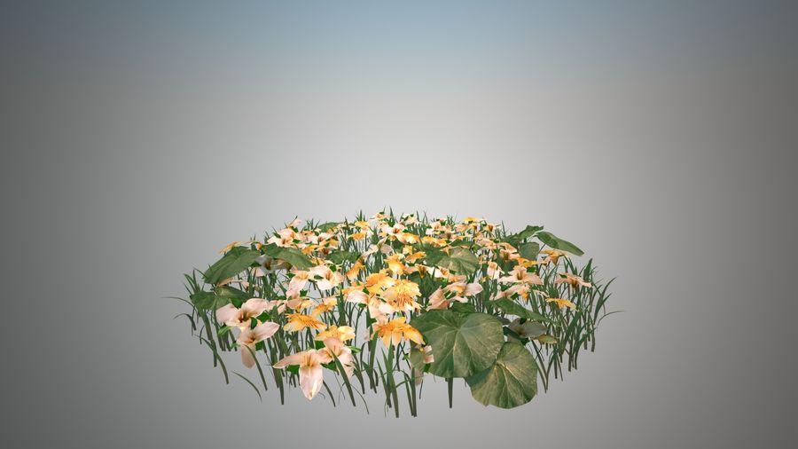 Bloemen voor het milieu royalty-free 3d model - Preview no. 1
