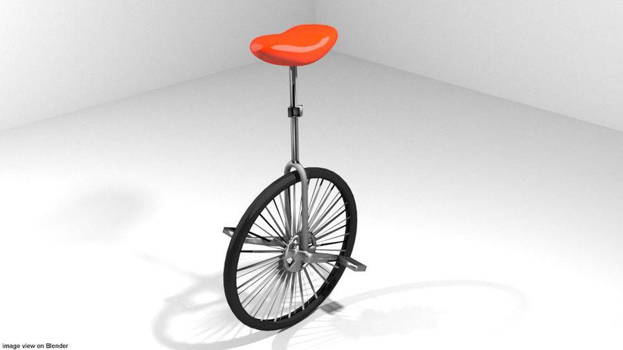 自転車-ユニサイクル royalty-free 3d model - Preview no. 1