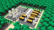 Düşük Poli Enerji Santrali 3d model