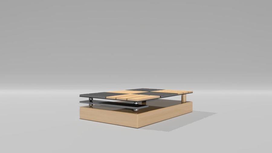 センターテーブル royalty-free 3d model - Preview no. 2