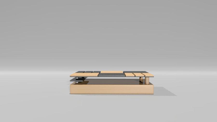センターテーブル royalty-free 3d model - Preview no. 1