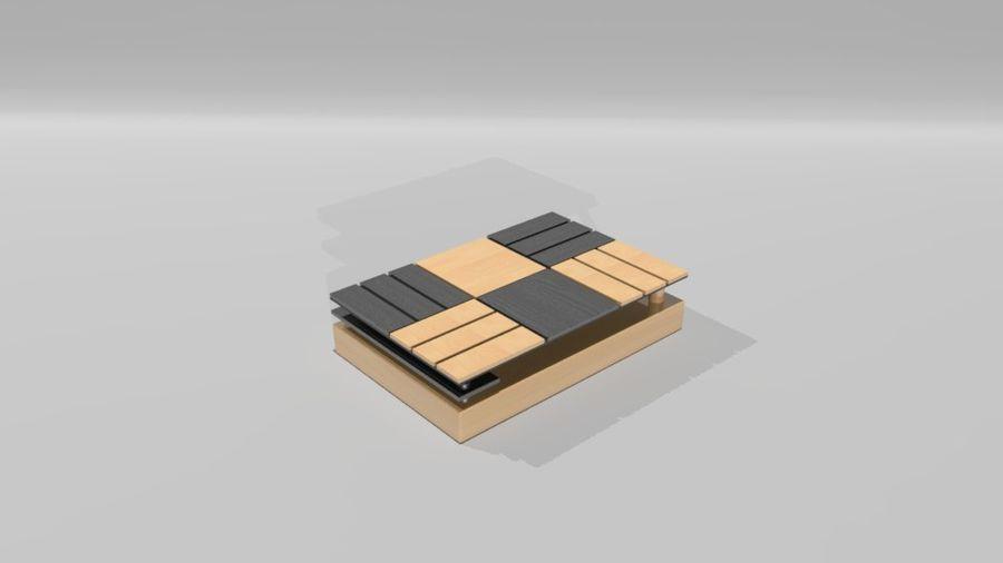 センターテーブル royalty-free 3d model - Preview no. 5