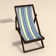 Plaj sandalyeleri 3d model