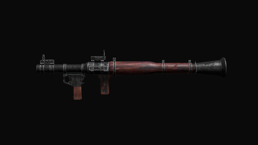 RPG 7 LAUNCHER royalty-free 3d model - Preview no. 13