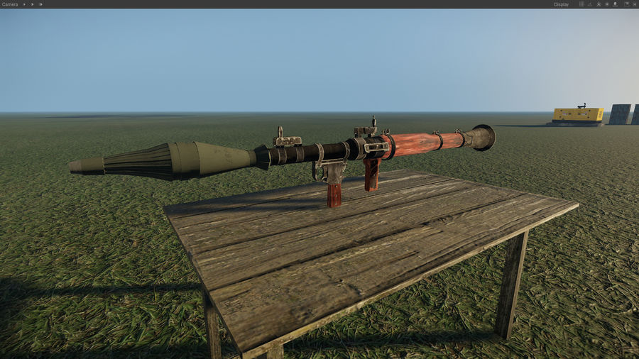 RPG 7 LAUNCHER royalty-free 3d model - Preview no. 6