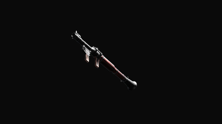 RPG 7 LAUNCHER royalty-free 3d model - Preview no. 17